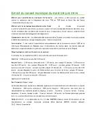 1406 Extrait du conseil municipal du mardi 24 juin 2014