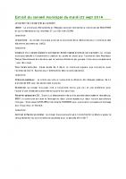 1409 Extrait du conseil municipal du mardi 23 sept 2014
