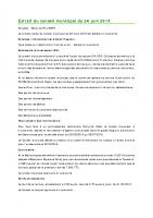 1506 Extrait du conseil municipal du 24 juin 2015