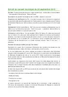 1509 Extrait du conseil municipal du 29 septembre 2015