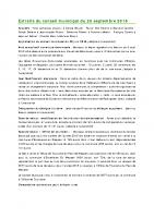 1609 Extraits du conseil municipal du 28 septembre 2016
