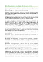 1803 Extrait du conseil municipal du 27 mars 2018