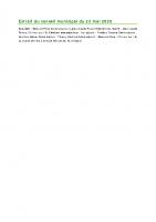2005 Extrait du conseil municipal du 23 mai 2020