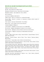 2006 Extrait du conseil municipal du 04 juin 2020
