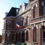 La Marie avec le drapeau Français