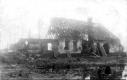 La ferme a l'état de ruine par les bombardements